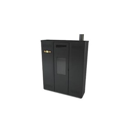 ETIKS PELETNI KAMIN BARBARA 11 kW črna