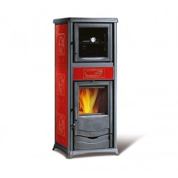 NORDICA K. ROSSELLA PLUS FORNO Liberty Bordo 9,1kW